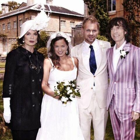 Du beau monde pour le mariage de Jade Jagger