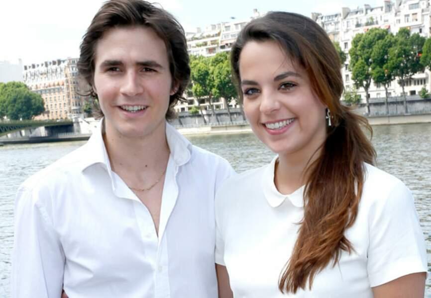 Julien Dereins et sa compagne Anouchka Delon