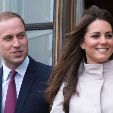 Le prince William et Katre Middleton,