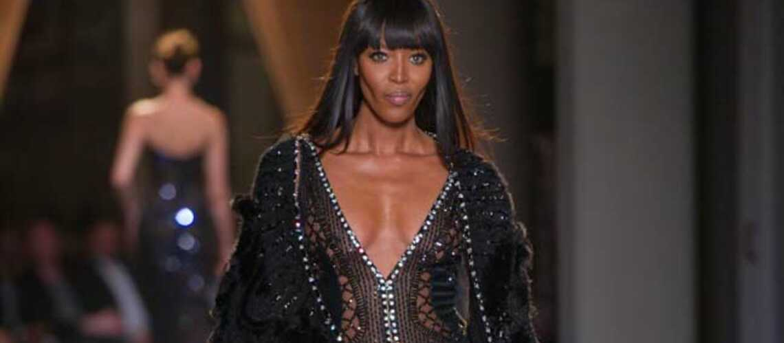Photos – Naomi Campbell une panthère sur les podiums