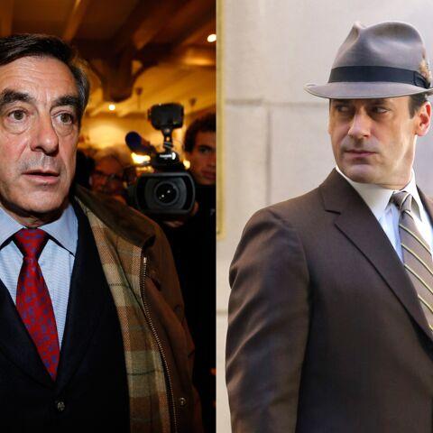 François Fillon ne renie pas sa ressemblance avec Don Draper