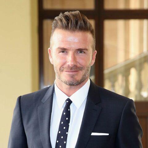 Photo: David Beckham s'improvise couturière pour Harper