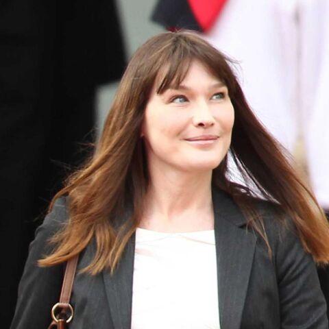 Carla Bruni-Sarkozy: enfin libre!