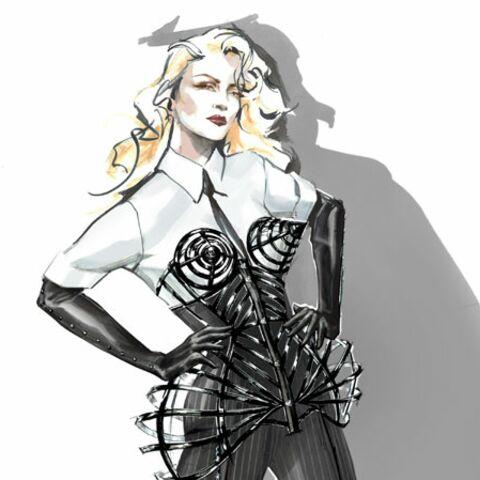 Madonna habillée par Jean Paul Gaultier