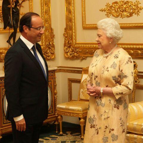 François Hollande troque sa DS5 pour recevoir Elizabeth II