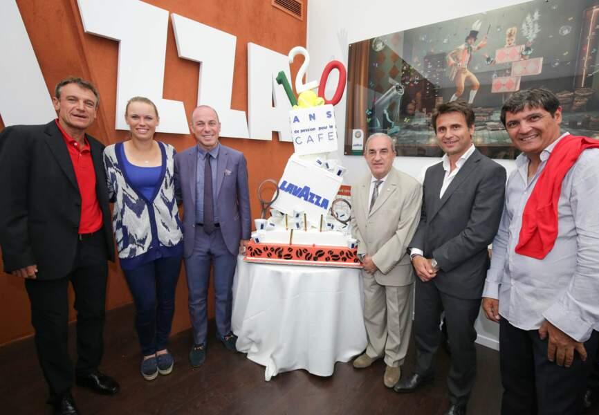 Dream team pour les 120 ans de Lavazza