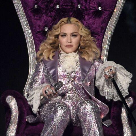 Madonna fête ses retrouvailles avec son fils