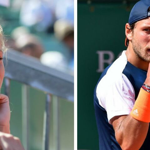 PHOTO – Lucas Pouille à Roland Garros: sa chérie Clémence dans les tribunes