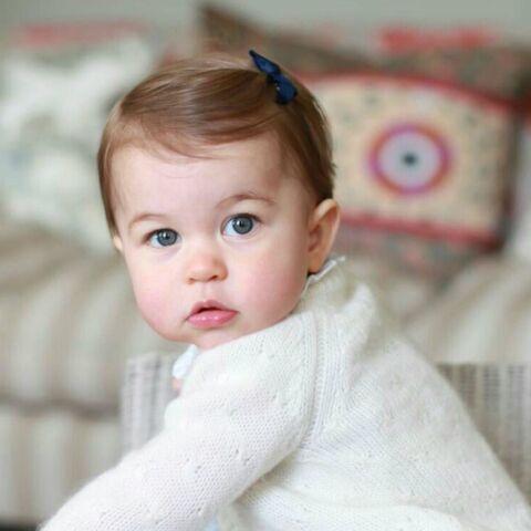 Les photos craquantes de la princesse Charlotte