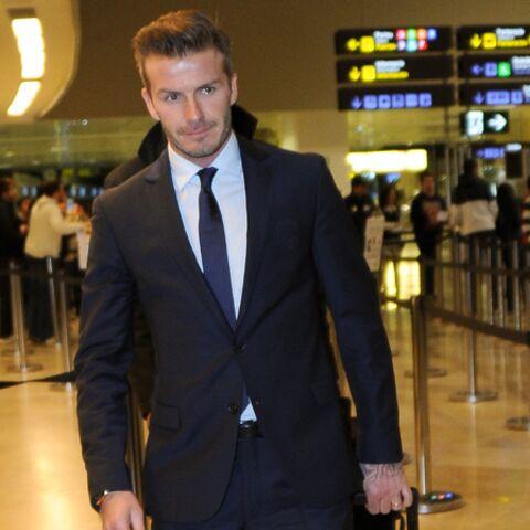 David Beckham, un gentleman à Paris