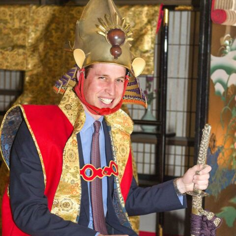 Prince William : un samouraï au Japon