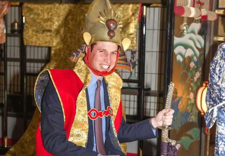Le Prince William est en voyage officiel au Japon jusqu'au 1er mars