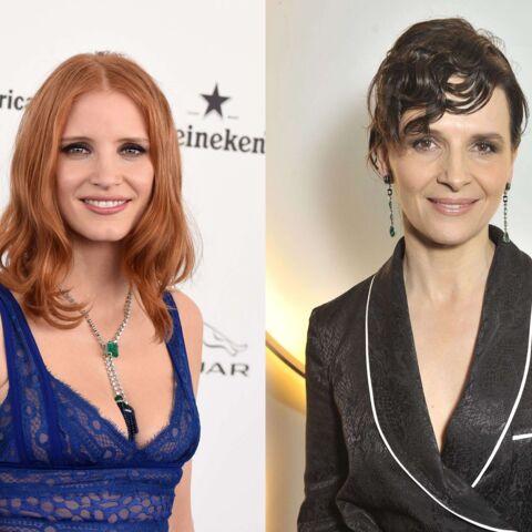 Juliette Binoche et Jessica Chastain créent une société de production féministe