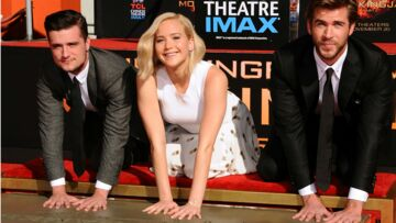 Vidéo – Jennifer Lawrence dépose ses empreintes sur Hollywood Boulevard