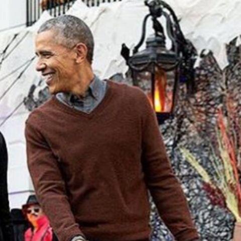PHOTOS – Michelle et Barack Obama fêtent leur dernier Halloween à la Maison Blanche