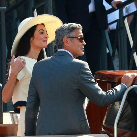 Mariage de George Clooney et Amal Alamuddin, des photos pour la bonne cause