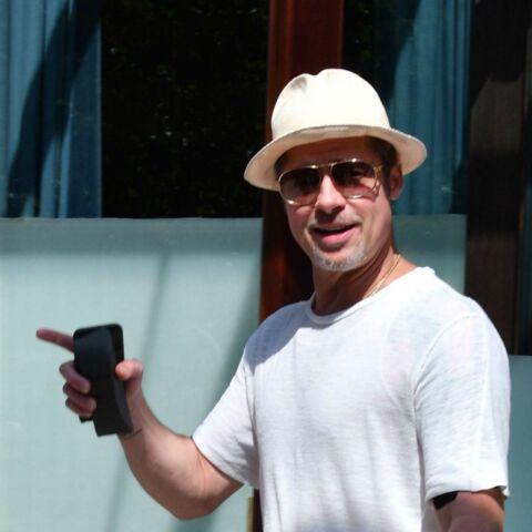 """Brad Pitt: Pas un mauvais père mais un père """"à la française"""""""