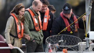 PHOTOS – Kate et William se la jouent mate­lots, mais la fatigue commence à se faire sentir