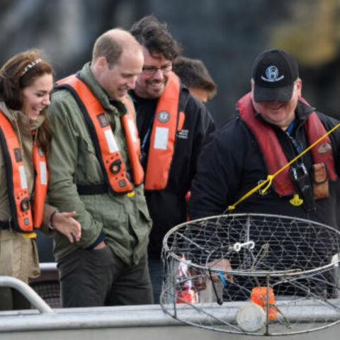PHOTOS – Kate et William se la jouent matelots, mais la fatigue commence à se faire sentir