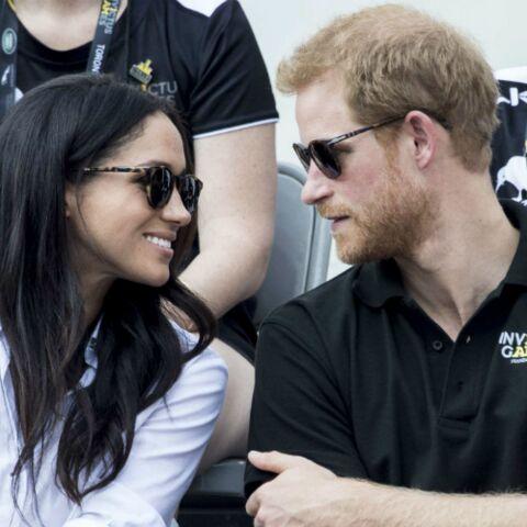 Meghan Markle et le prince Harry surpris en plein bisou