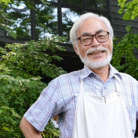 Hayao Miyazaki signe son dernier film d'animation