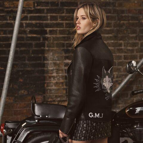 Georgia May Jagger bikeuse de choc