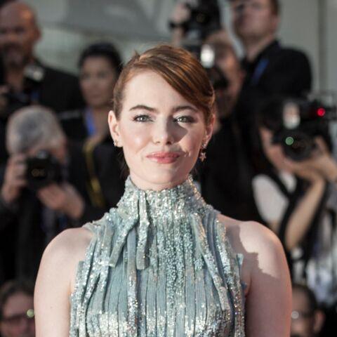 Photos – Emma Stone brille de milles feux à Venise