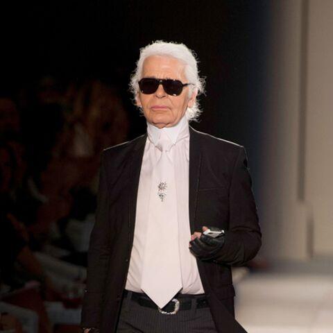 Karl Lagerfeld pipe mot sur Pippa