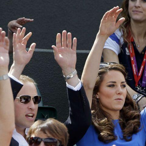 William et Kate: la ola aux Jeux de Londres!