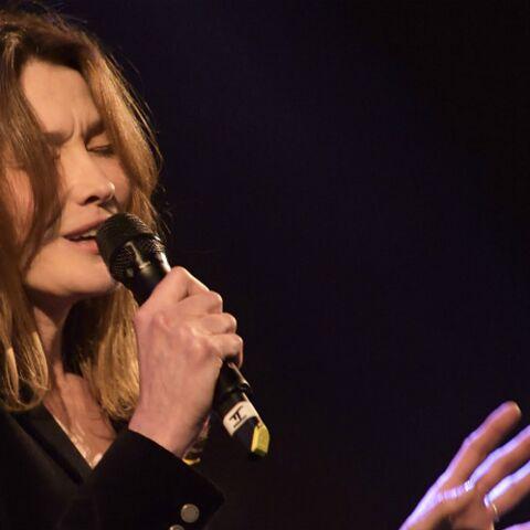 Vidéo – Carla Bruni en concert…