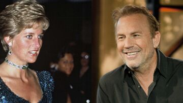 Lady Diana et Kevin Costner, leur relation secrète dévoilée