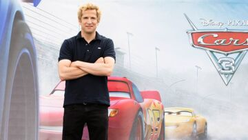 Guillaume Canet (Cars 3): le personnage de Flash McQueen le suit partout!