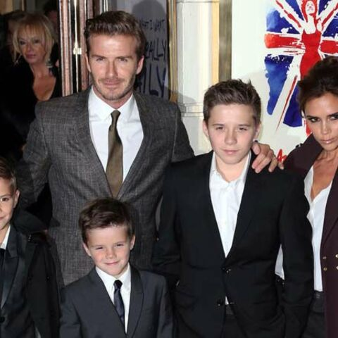 David Beckham, un père normal