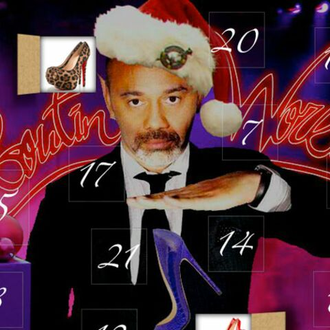 Christian Louboutin fête Noël