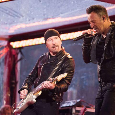 Bruce Springsteen et Chris Martin prennent la tête de U2