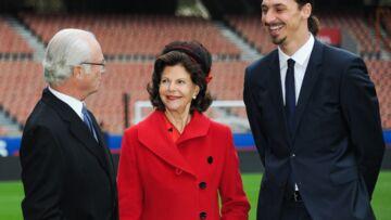 Zlatan Ibrahimovic accueille le couple royal de Suède dans son jardin