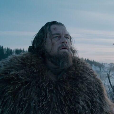 """Leonardo DiCaprio, dans """"The Revenant"""": Des pics enneigés, un viol et enfin l'Oscar?"""