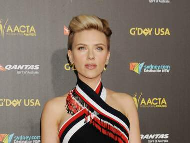 Scarlett Johansson honore Chris Hemsworth au G'Day Awards