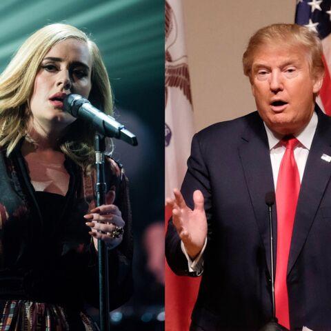 Adele en colère: Donald Trump utilise ses chansons sans autorisation