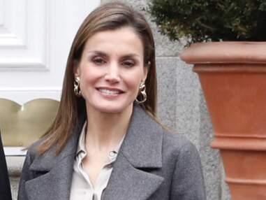Letizia d'Espagne, très chic pour recevoir le président allemand