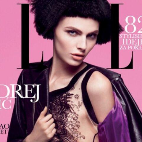 Andrej Pejic: «il» en couverture de Elle