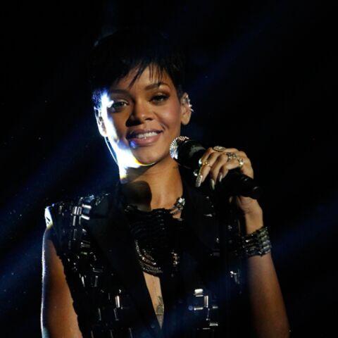 Rihanna, son réveillon sous la couette