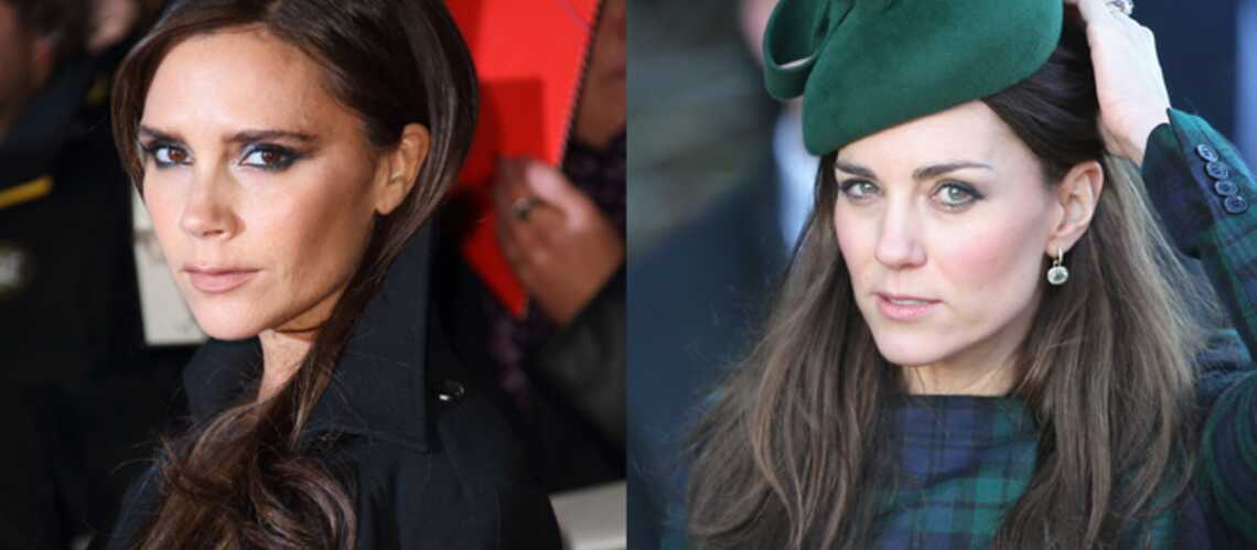 Kate Middleton et Victoria Beckham, super copines