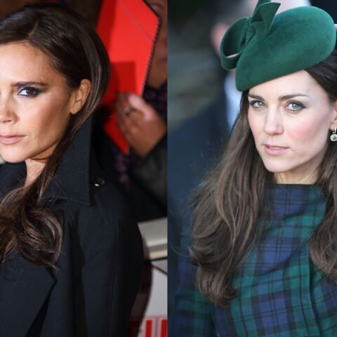 Kate Middleton et Victoria Beckham, super copines