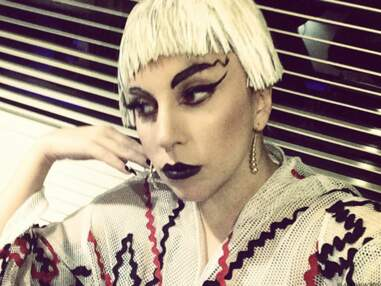 Les selfies beauté de Lady Gaga