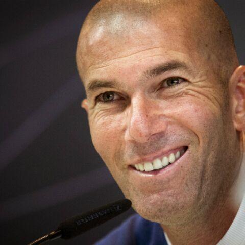 PHOTOS – Zinédine Zidane s'accorde une pause en famille durant les fêtes