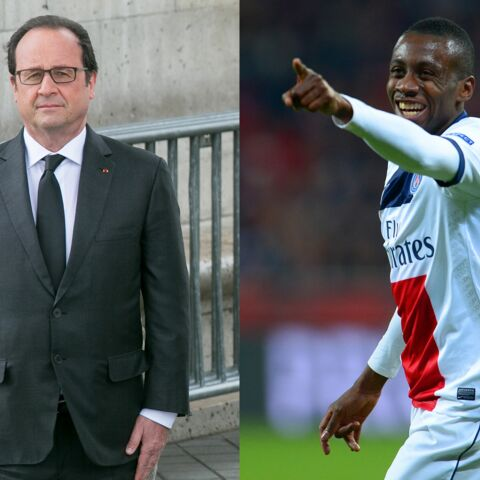François Hollande en Afrique avec Blaise Matuidi