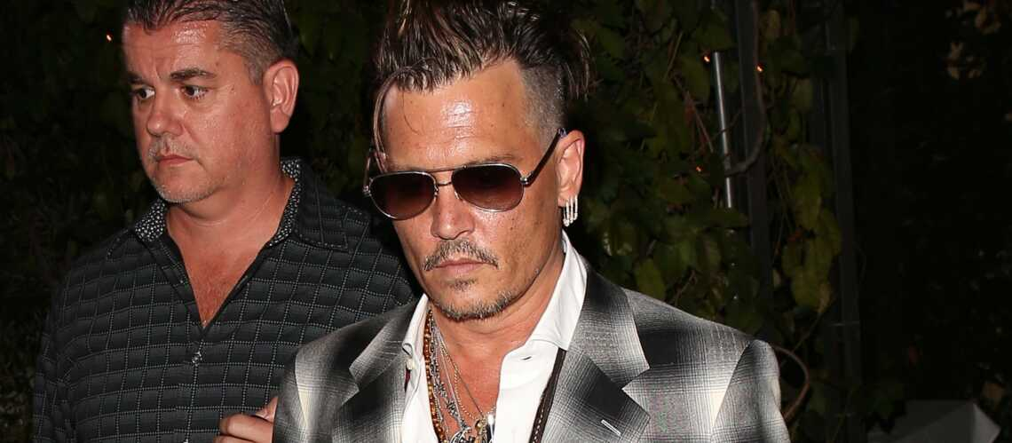 Johnny Depp Son Tatouage D Insulte Pour Amber Heard Gala