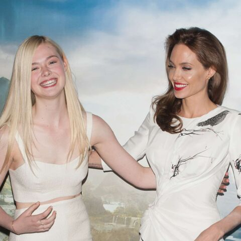 """Elle Fanning: """"Angelina Jolie m'a prise sous son aile"""""""