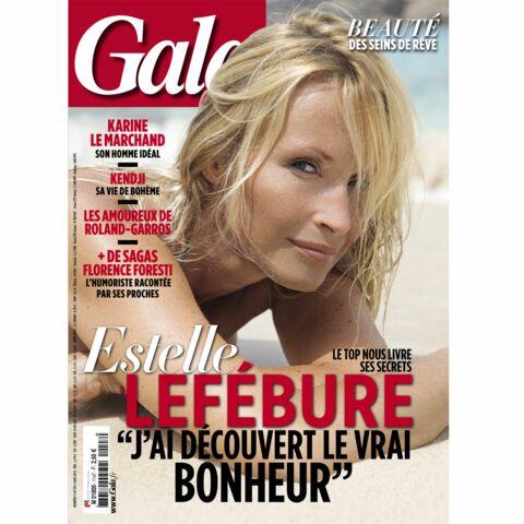 Estelle Lefébure: «J'ai découvert le vrai bonheur»